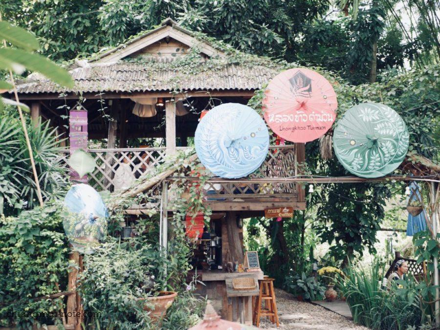 Lhongkhao Tummuan チェンマイの古民家レストラン