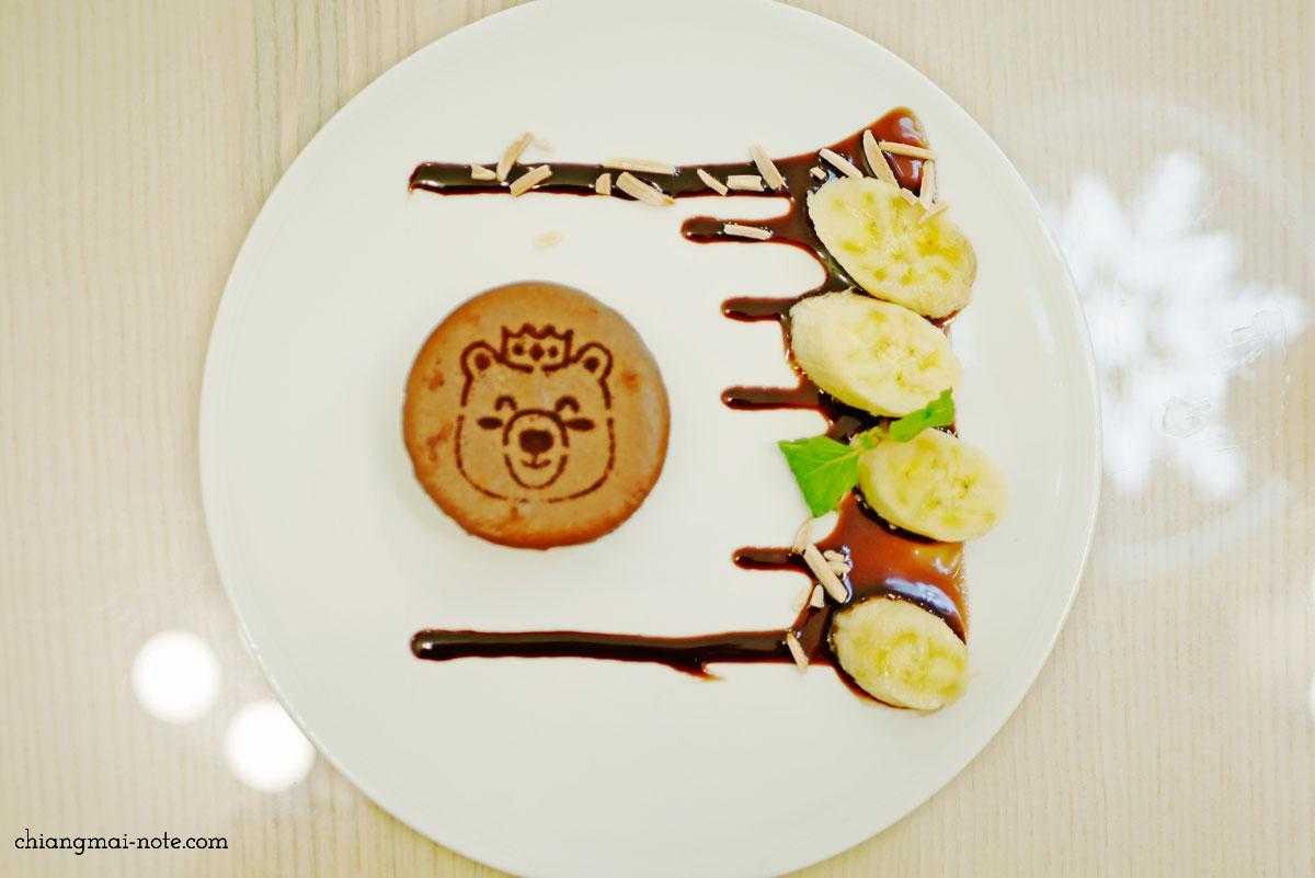 barneo デザートバー チェンマイ 人気のチーズケーキ(チョコ味)
