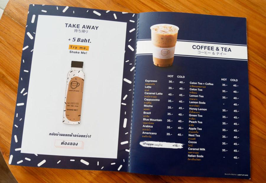 チェンマイカフェ巡り|安くて美味しいコーヒーならLight up cafe へ行こう