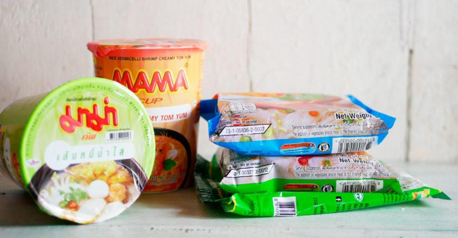タイのカップ麺☆ライスヌードル系が美味し過ぎる!という発見