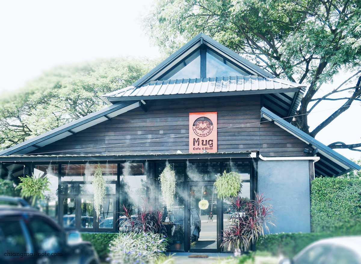 【子連れチェンマイ】やさしい木漏れ日に包まれるカフェ|Mug cafe and bistro