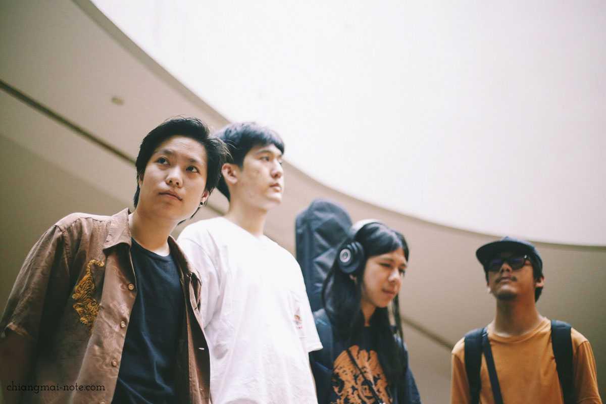 タイのインディー音楽界の注目株【 Zweed N'Roll 】チェンマイでライブ開催!