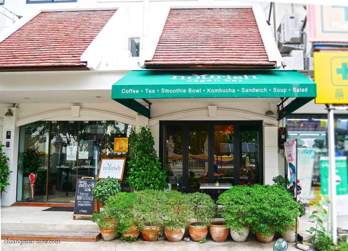旧市街のおしゃれビーガンカフェ|Nourish Vegan