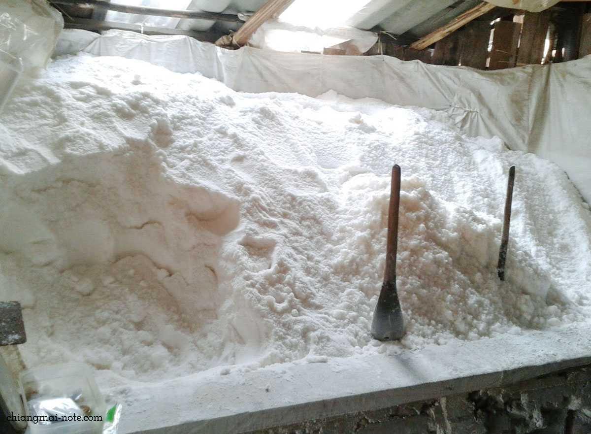 【お土産におすすめ】世界でも珍しい井戸から採れるお塩|タイ北部ナーン県