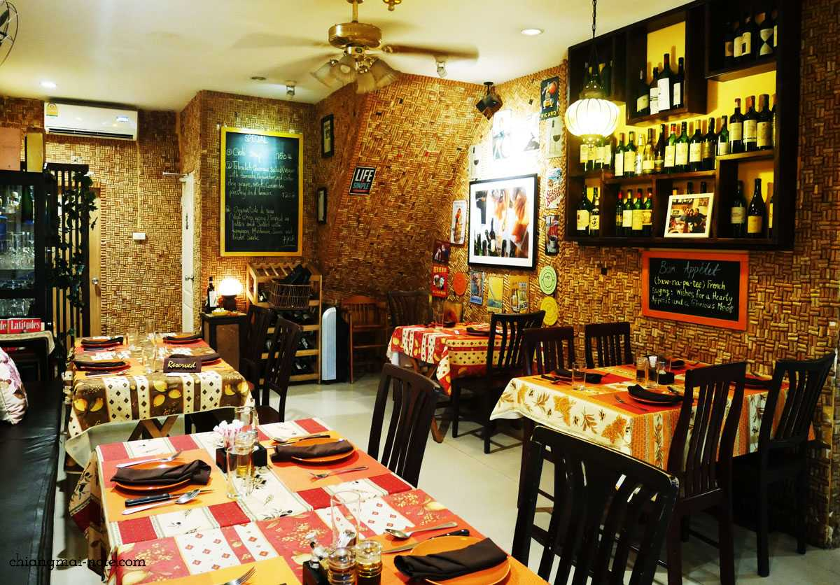 チェンマイで特別なディナーを楽しむなら【地中海料理シェ・マルコ 】で間違いない|CHEZ MARCO